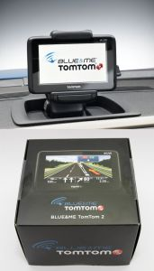 NAVIGATORE GPS TOM TOM 2 ROAD MAP GO LIVE 1000 BLUE&ME FIAT 500L FIAT 500 LARGE